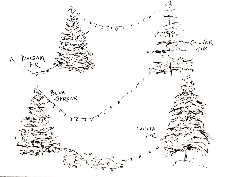 Free Christmas Card Tree printable