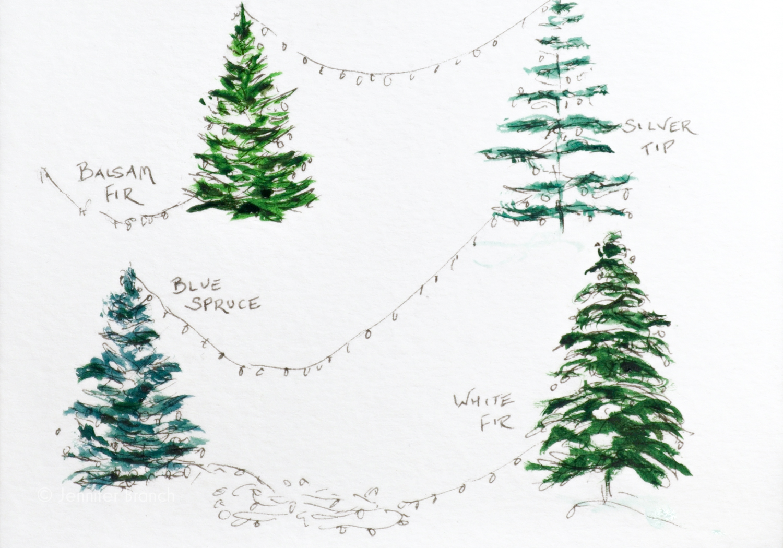 Christmas Card Trees 2