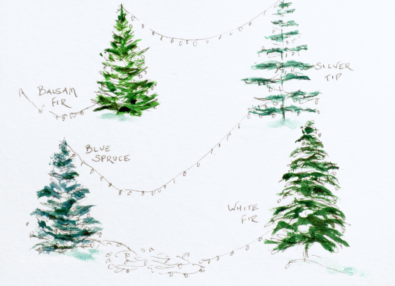 Christmas Card Trees 3