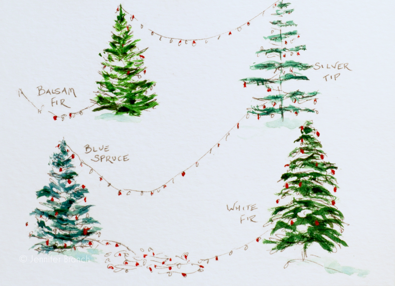 Christmas Card Trees 4