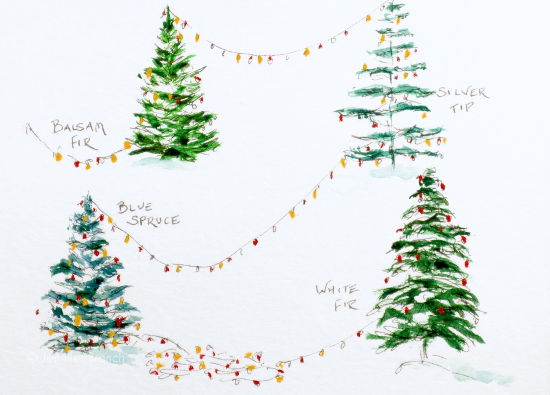 Christmas Card Trees 5