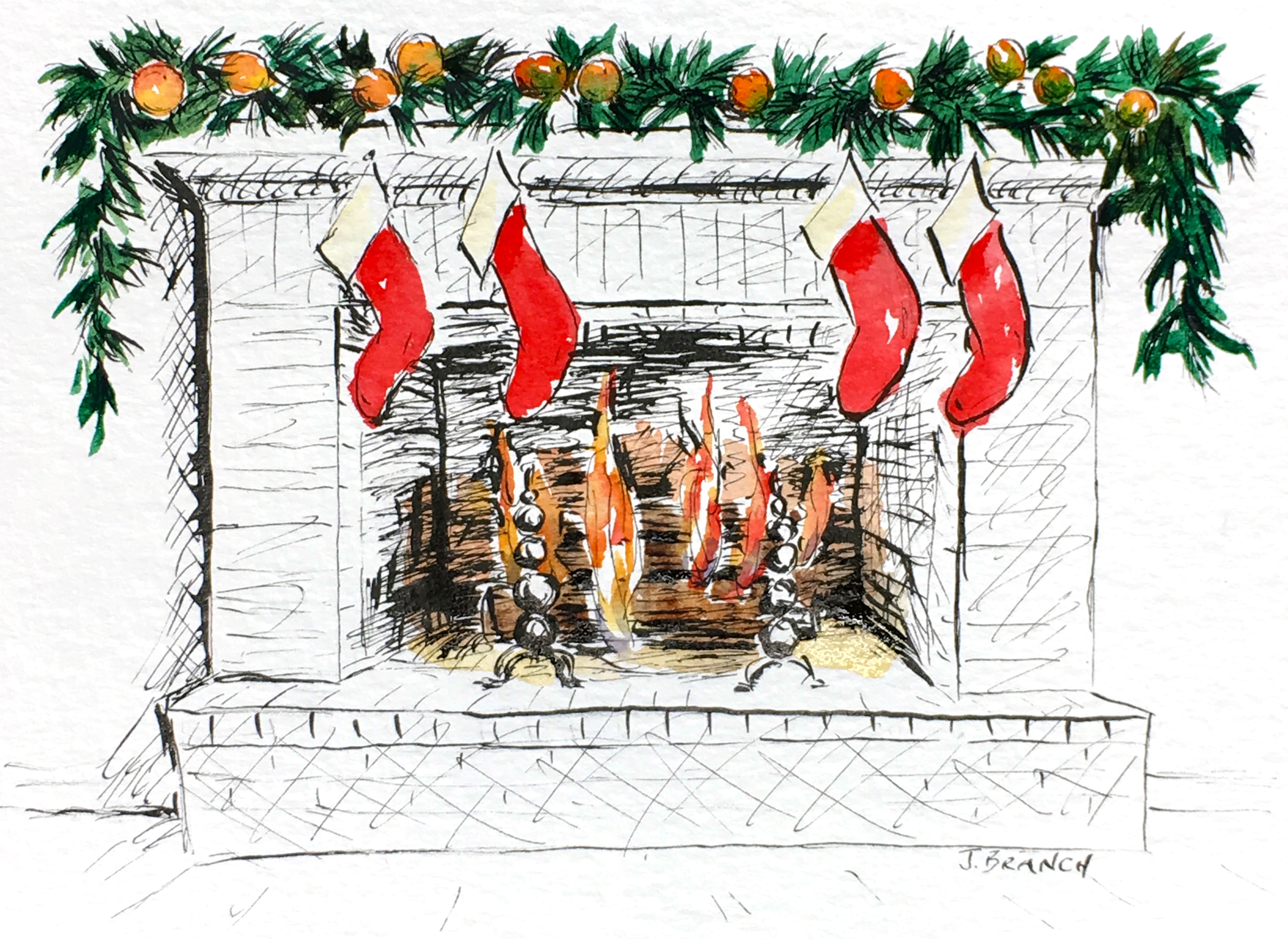 Christmas Card Hearth 3