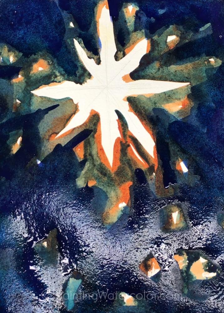Christmas Card Star 4