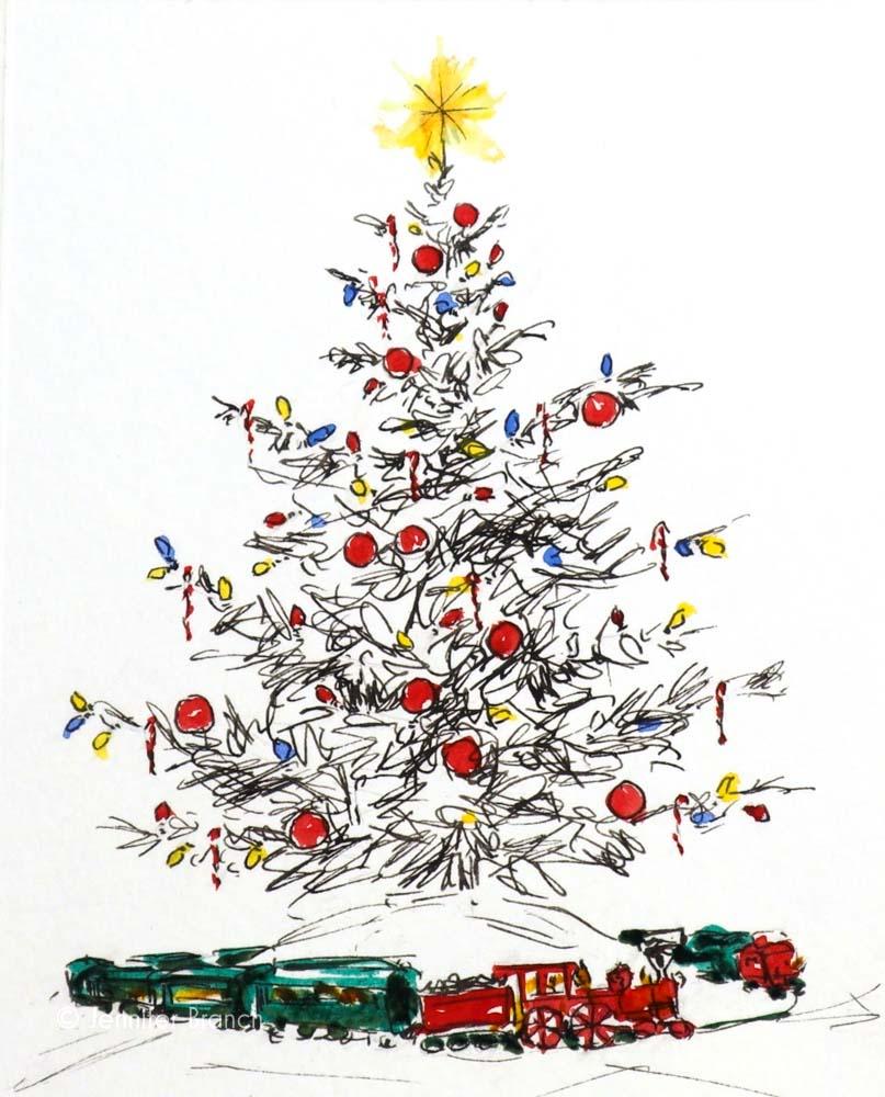 Christmas Card Tree 4