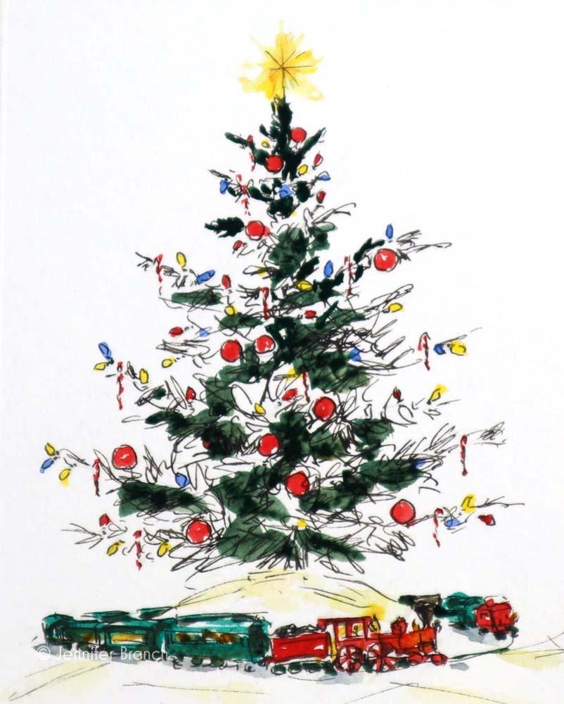 Christmas Card Tree 5