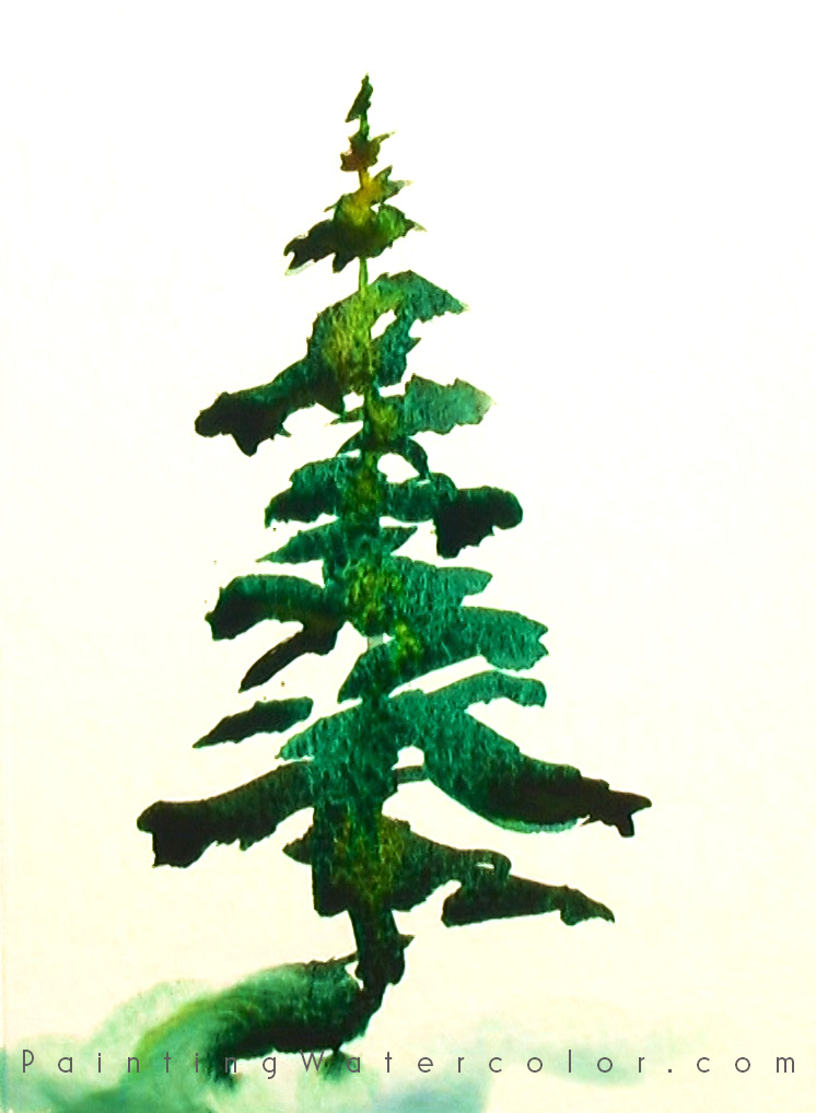 Christmas Card tree 1