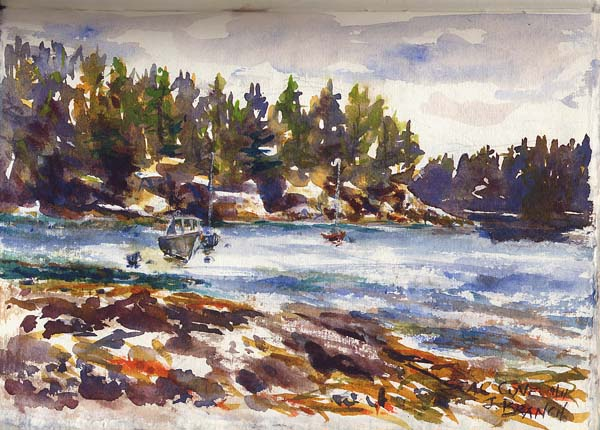 Seal Cove, Mount Desert Island, Maine by Jennifer Branch