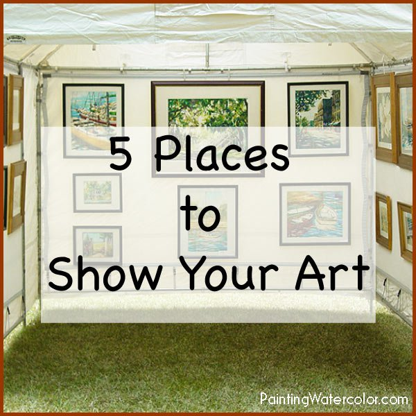 showing your art