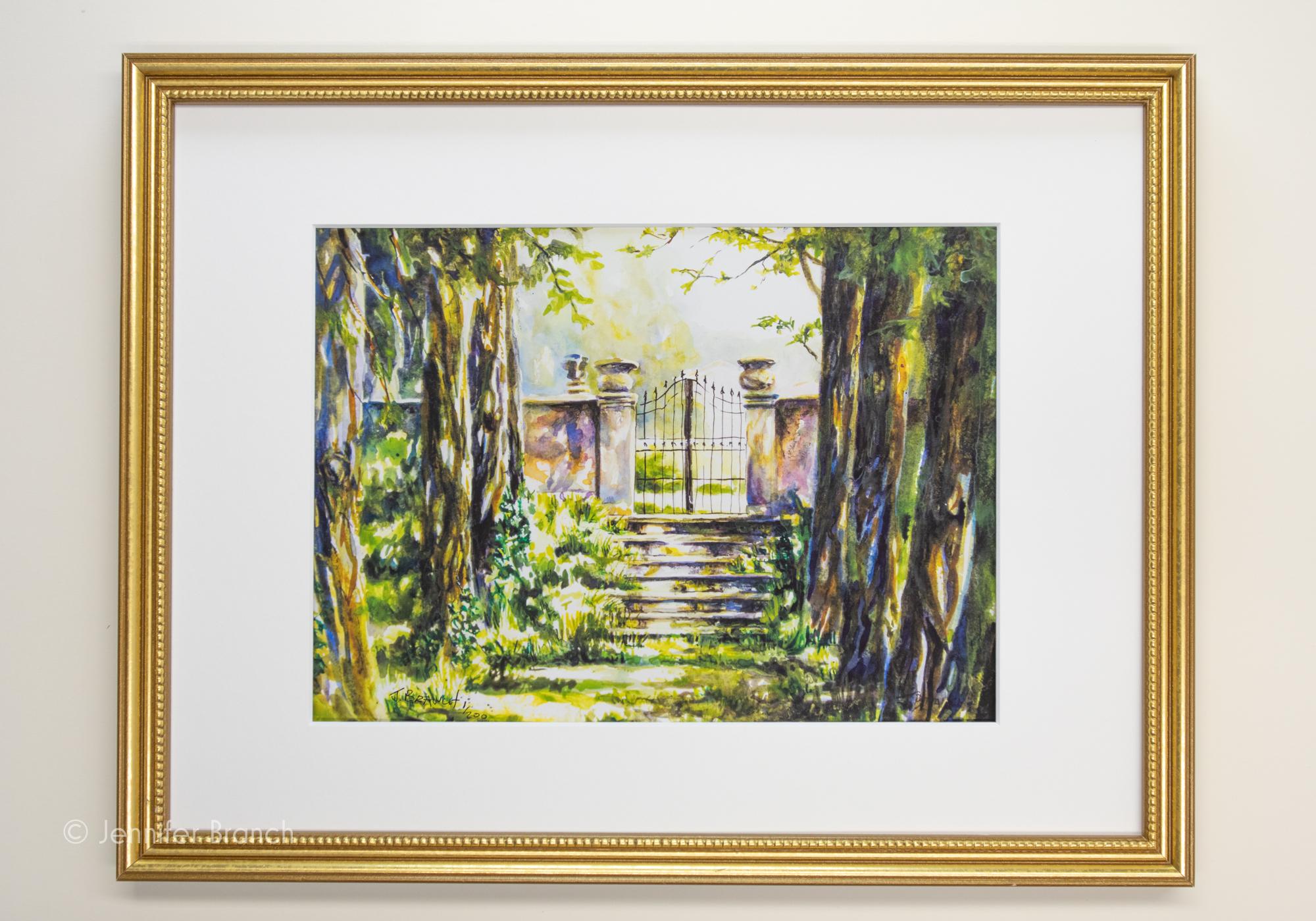 Garden Gate, Villa Francanzan Piovene