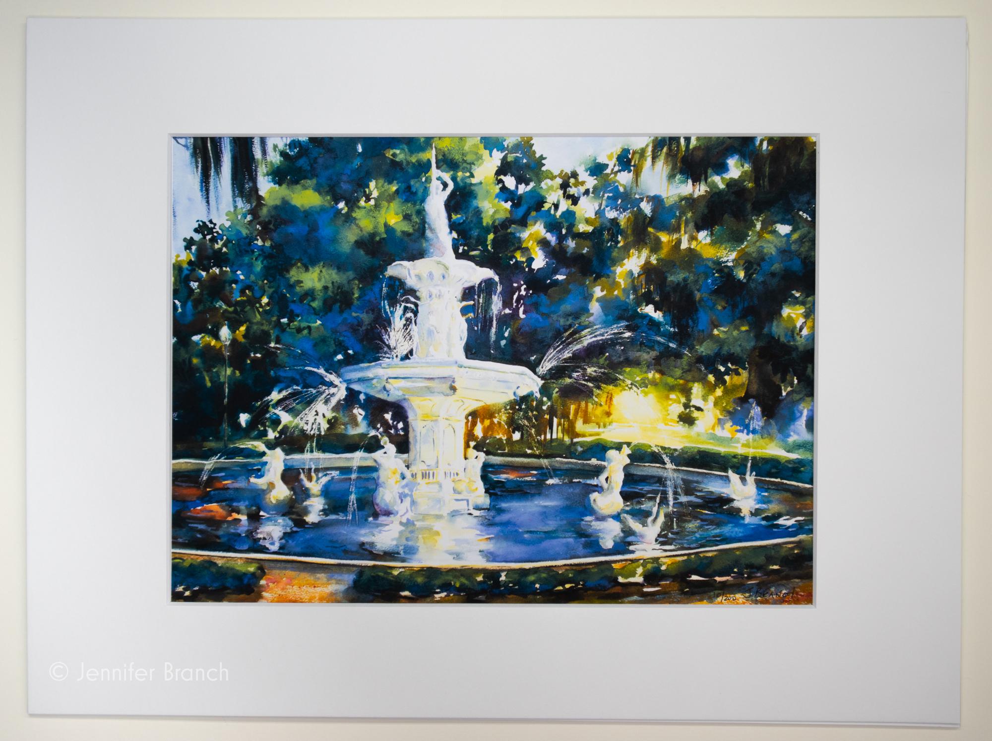Savannah Fountain, Forsyth Park