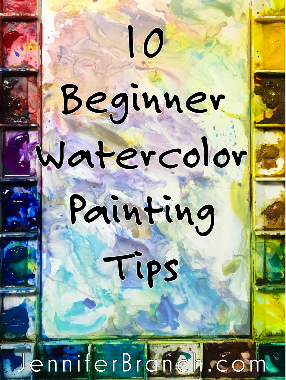 10 Beginner Watercolor Painting Tips