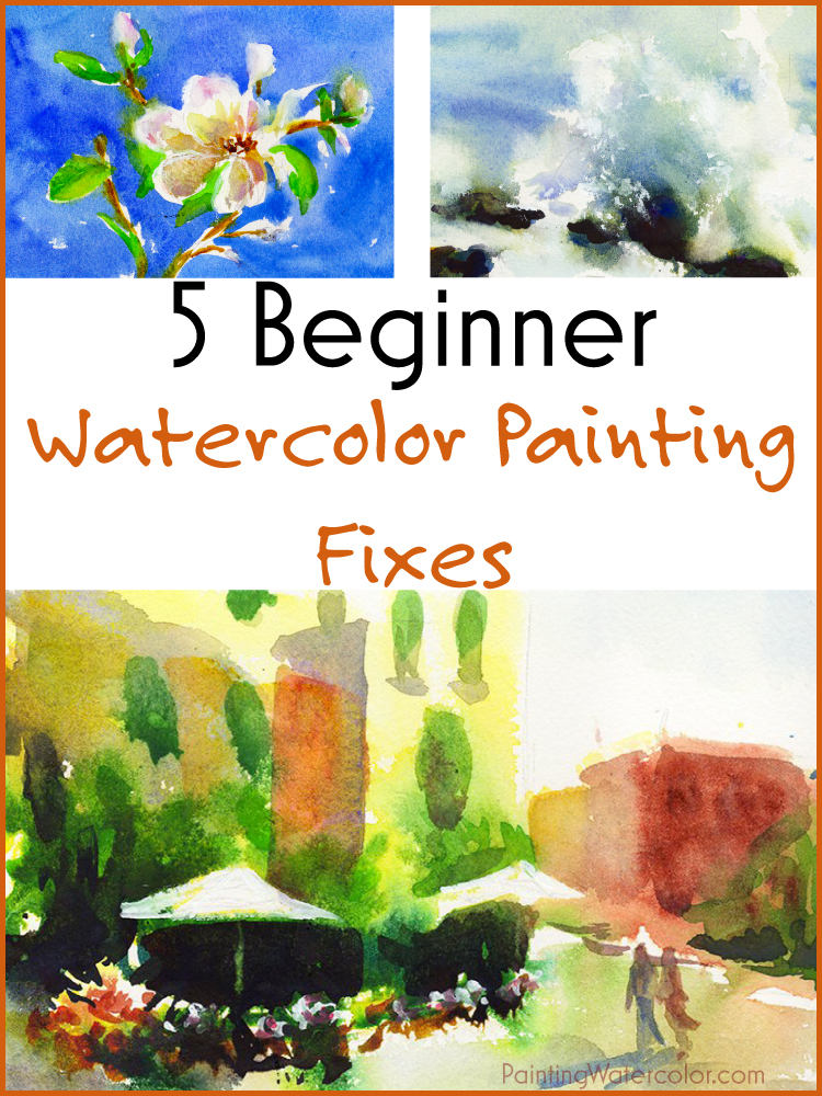 5 Beginner Watercolor Painting Fixes watercolor painting lesson