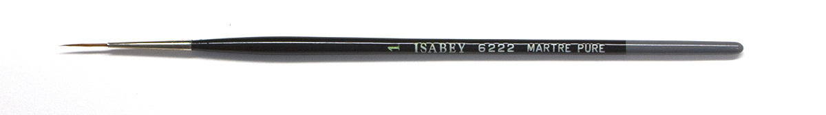 #1 Isabey Red Sable Rigger Brush