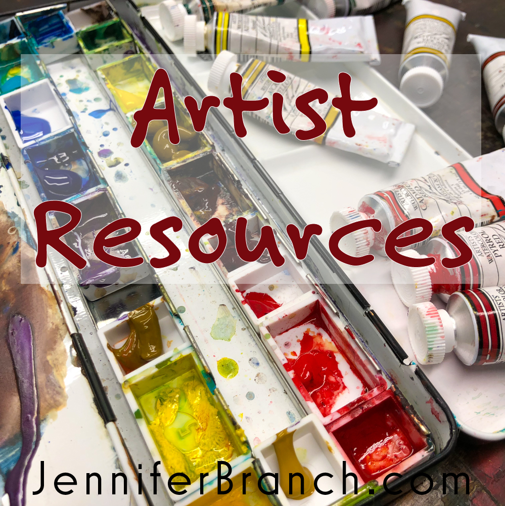 Artist Resources  Painting Lesson by Jennifer Branch