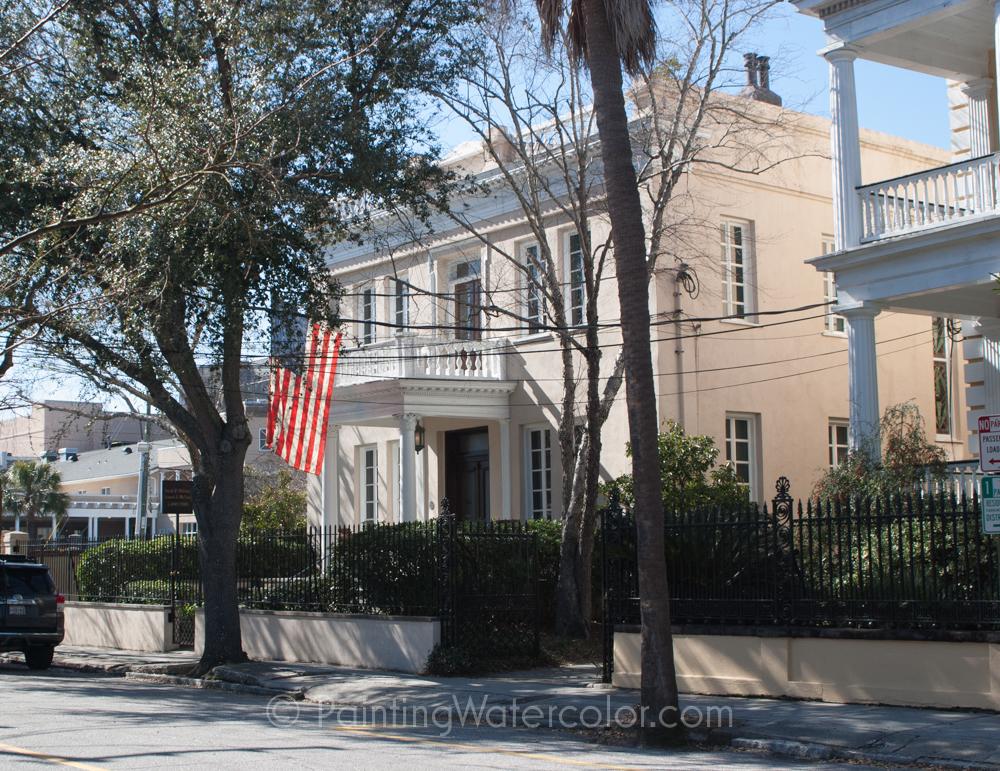 Charleston Watercolor Reference Photo