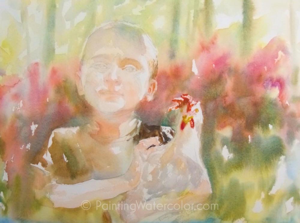 Chicken Wrangler Painting Tutorial 4
