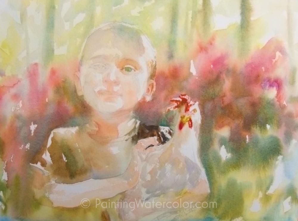 Chicken Wrangler Painting Tutorial 5