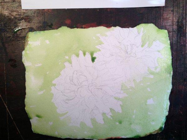 Dahlia Painting Tutorial 3