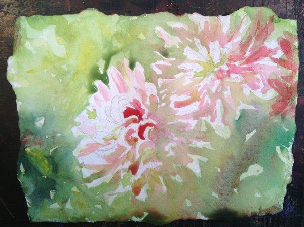 Dahlia Painting Tutorial 5