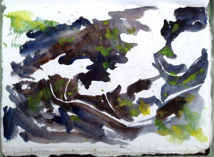 Dogwood Flowers Painting Tutorial 4