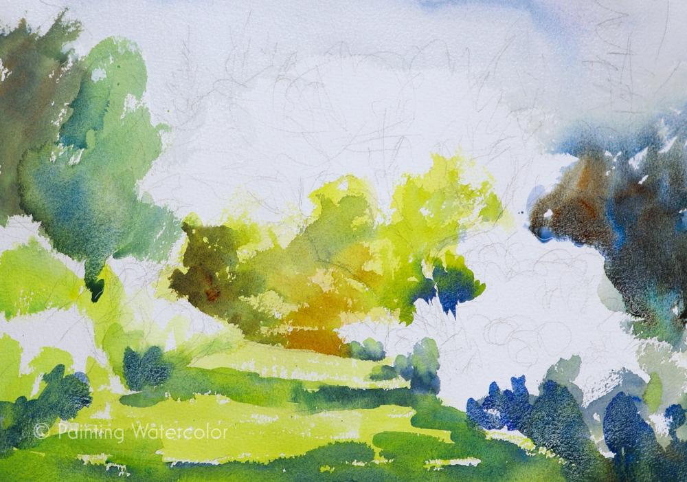 Garden Path Painting Tutorial Painting Tutorial 3