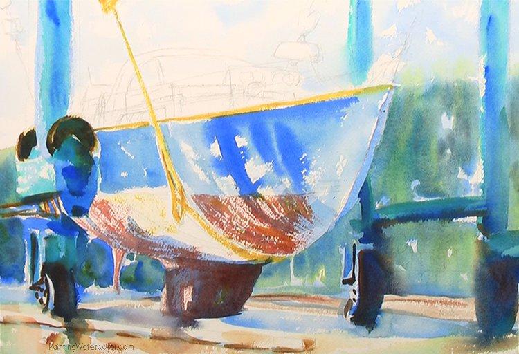 Hinckley Boatyard Painting Tutorial 5