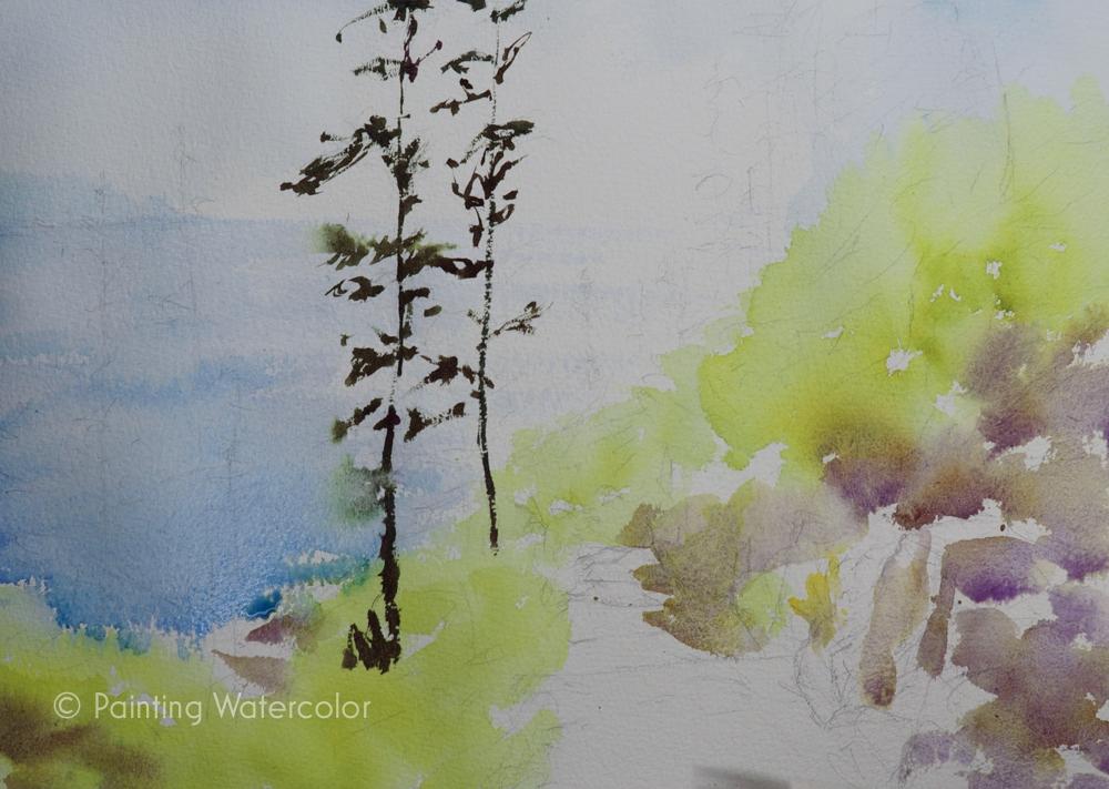 Lighthouse Path Painting Tutorial Painting Tutorial 3