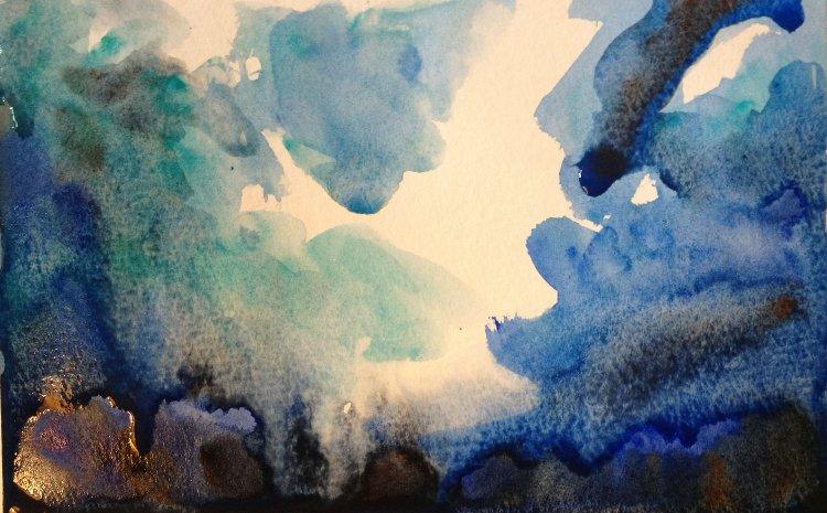 Stormy Sky Painting Tutorial 3