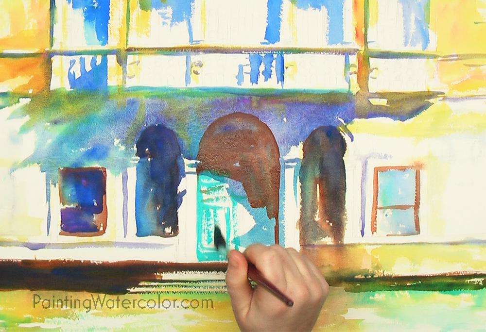 Venice Palazzo Painting Tutorial 4