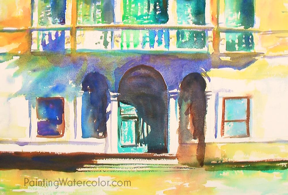 Venice Palazzo Painting Tutorial 5