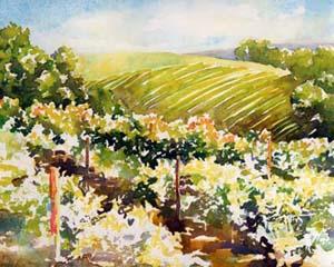 Sonoma Vineyard Painting Tutorial 5