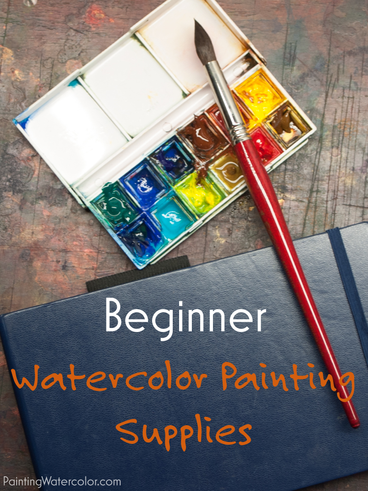 Beginner watercolor painting for Watercolor supplies for beginners