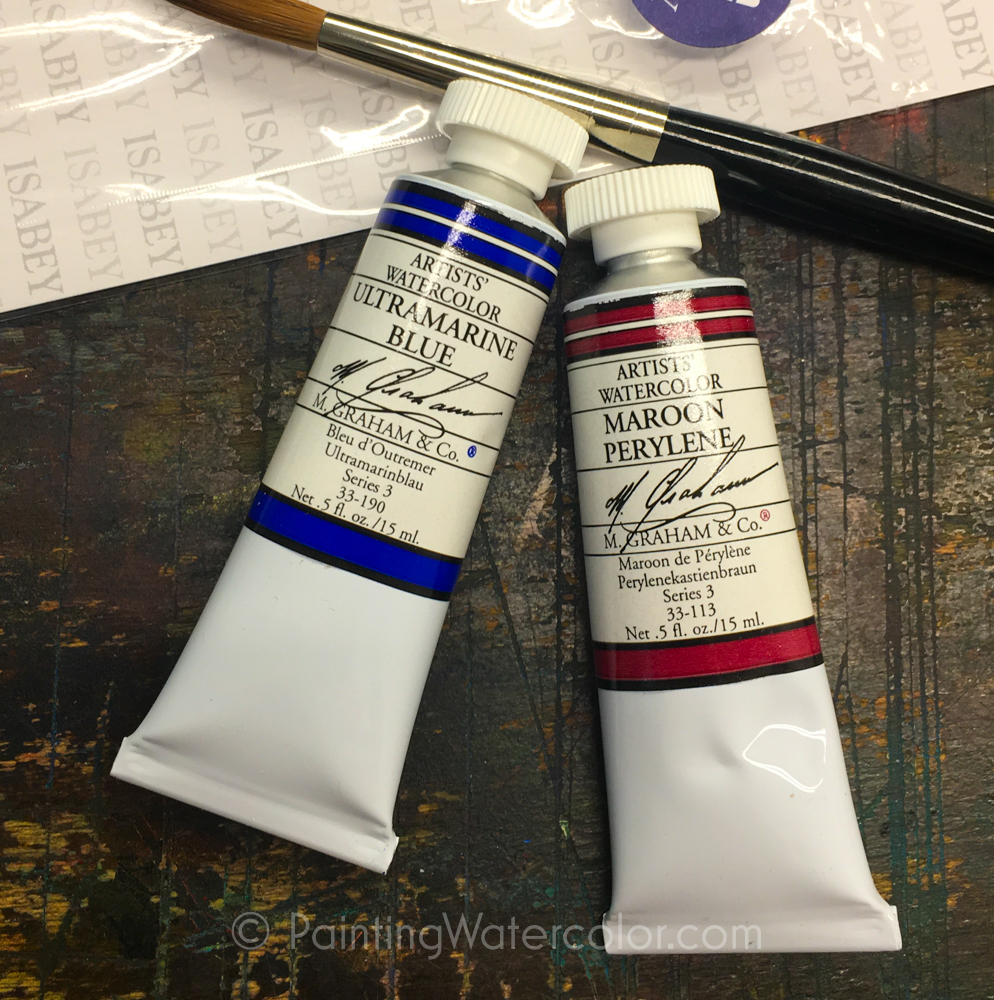 M. Graham watercolor paints