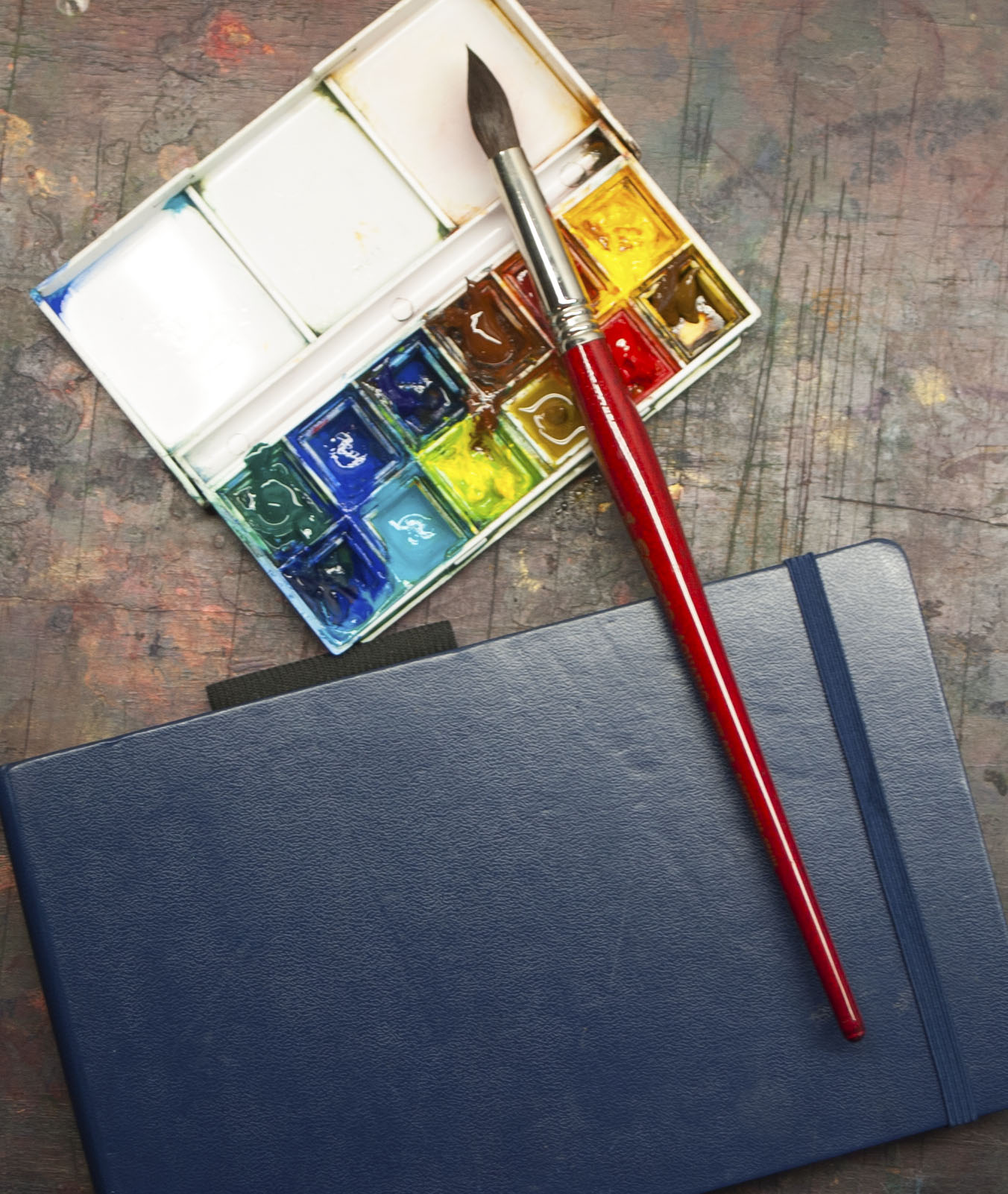 Beginner watercolor supplies