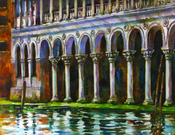 Venice Grand Canal painting