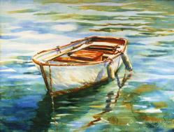 Portofino watercolor painting