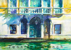 Mocenigo Ca'Vecchia Watercolor Painting
