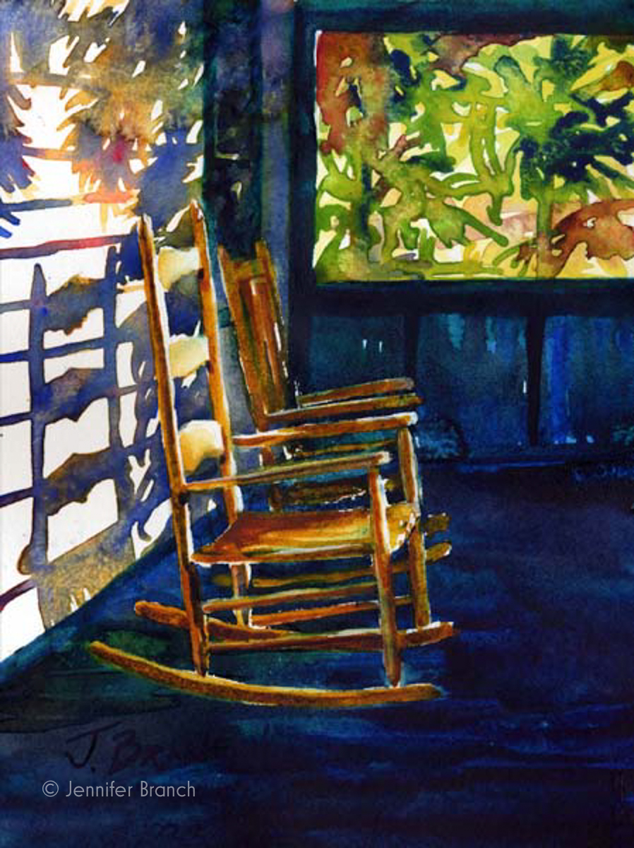 Beach Porch painting