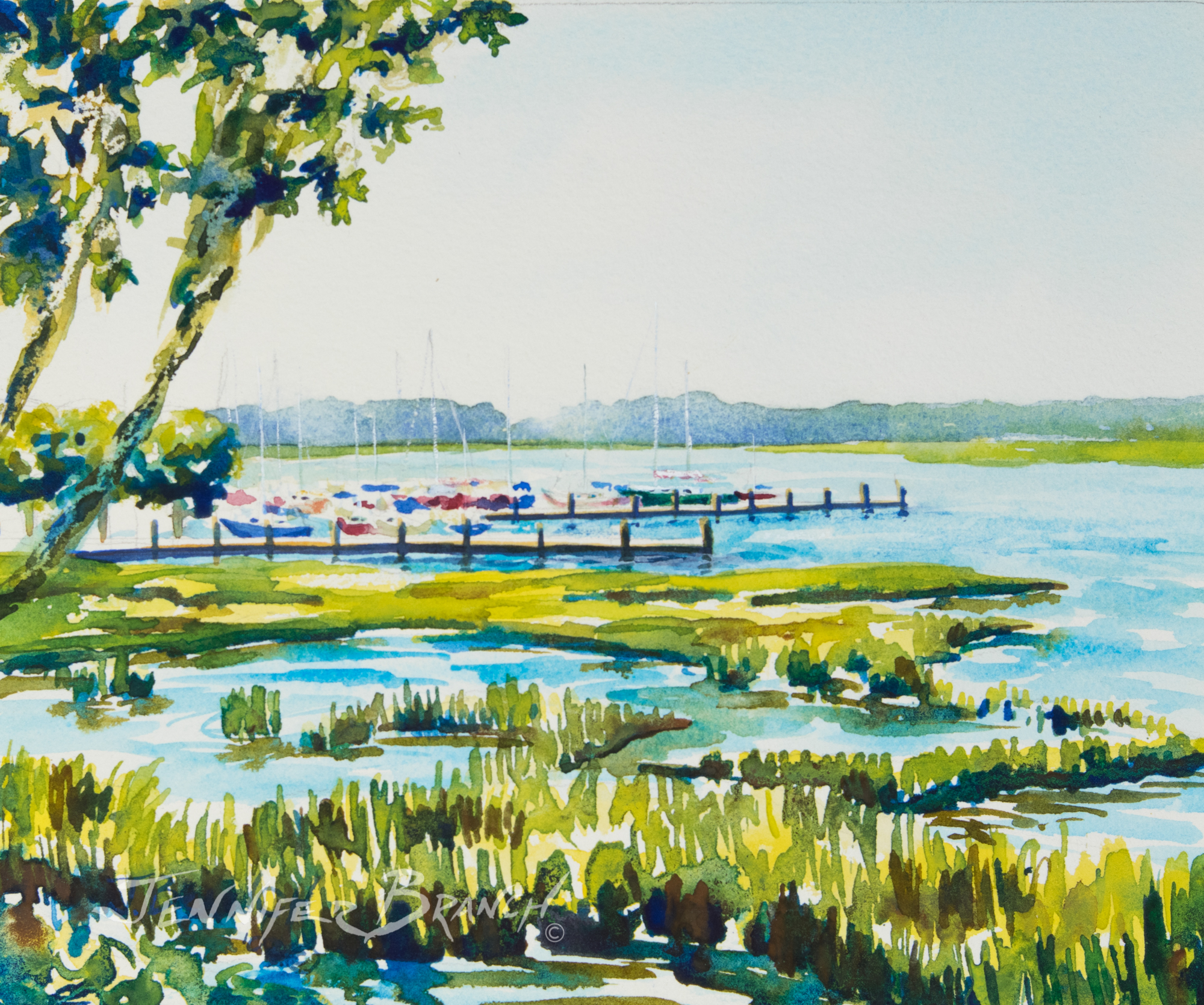 beaufort watercolor painting