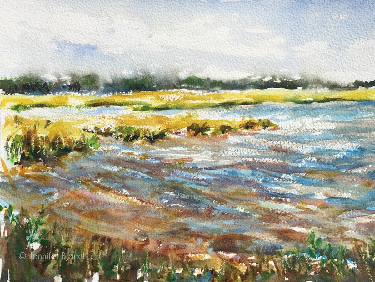 Marsh Sketch
