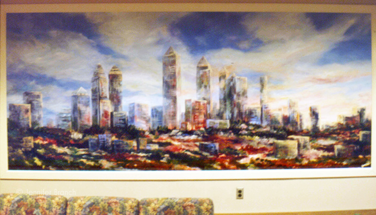 Shepherd Spinal Center mural by Jennifer Branch