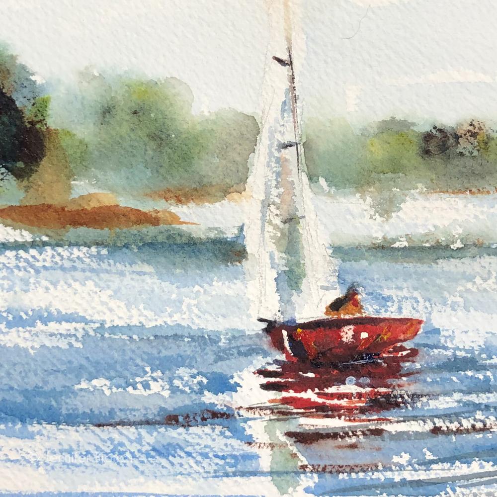 Sailing sketch